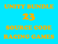 Unity Bundle - 23 Source Code of Runner And Racing Games, Ready To Publish
